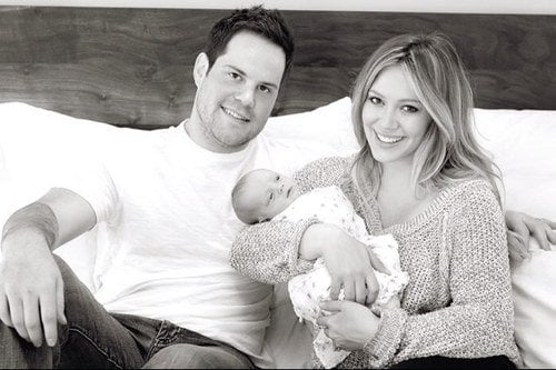 Hilary Duff became a first-time mom to baby boy Luca Cruz Comrie this March.