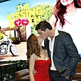 The two costars and real-life couple attended a screening of their Netflix film The Kissing Booth in May 2018 and sealed it with a kiss.