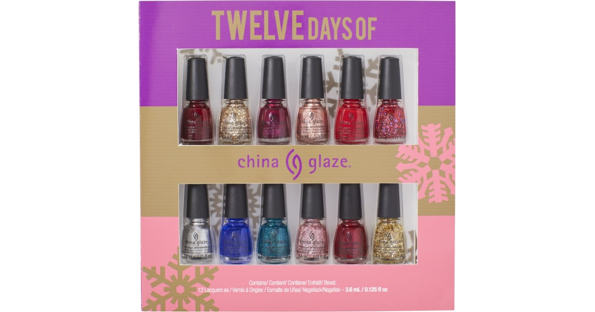 China Glaze 12 Days of China Glaze Nail Polish Set | Beauty Gifts ...