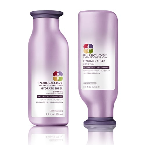 Pureology Hydrate Sheer Shampoo and Conditioner
