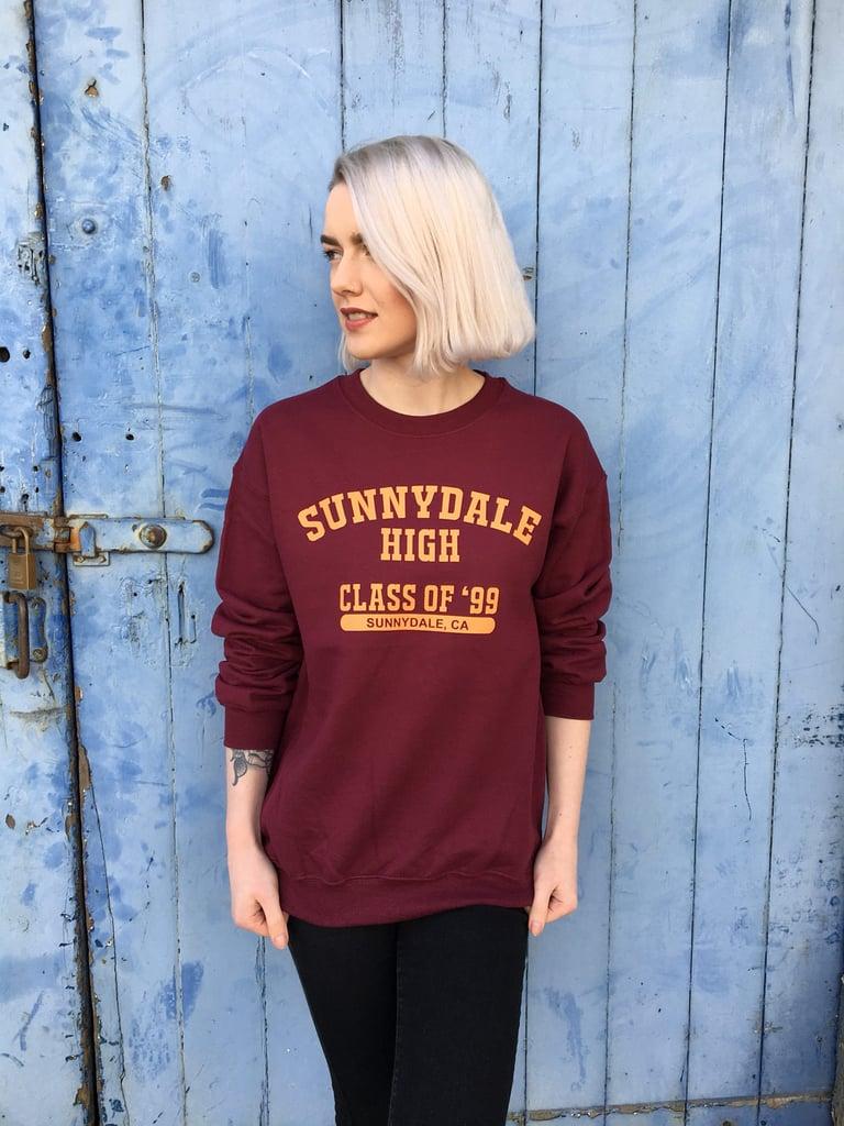 Sunnydale High School Sweatshirt ($29)