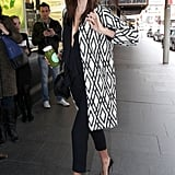 92082b6b9cf ... Miranda Kerr Goes to a Meeting at David Jones ...