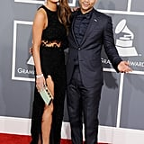 Chrissy Teigen and John Legend hammed it up on the red carpet.