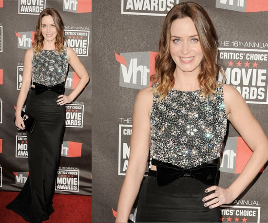 Emily Blunt at 2011 Critics' Choice Awards