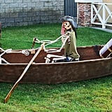 Pirate Rowboat