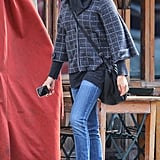 Cameron Diaz had lunch at Morandi in the West Village in NYC.