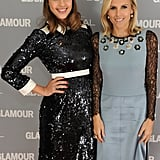 Jessica Alba and Tory Burch hit the red carpet together at the Glamour Women of the Year Awards.