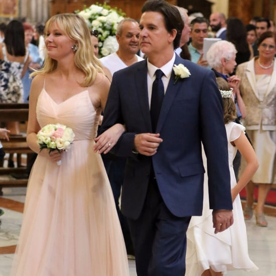 Kirsten Dunst's Pink Bridesmaid Dress
