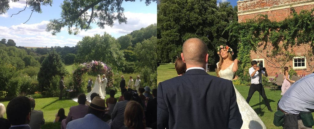 """Guy Ritchie and Jacqui Ainsley Say """"I Do"""" in a Gorgeous Wedding"""