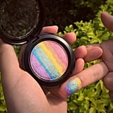 KizzlishBeauty Unicorn Rainbow Highlighter Shimmer ($15)