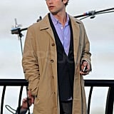Photos from set of GG