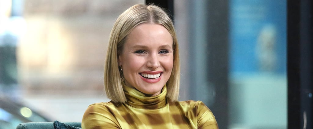 Kristen Bell's Daughters Decorate House With Skeletons