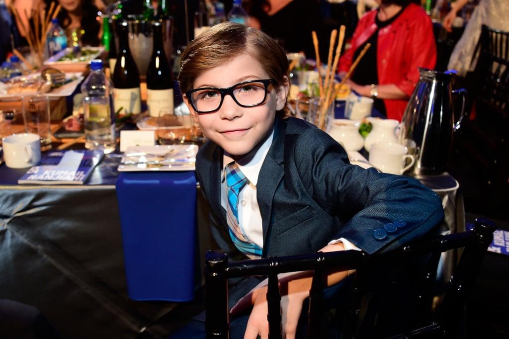 Jacob Tremblay at the Spirit Awards 2016
