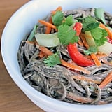 Noodle Salad With Ginger Peanut Dressing