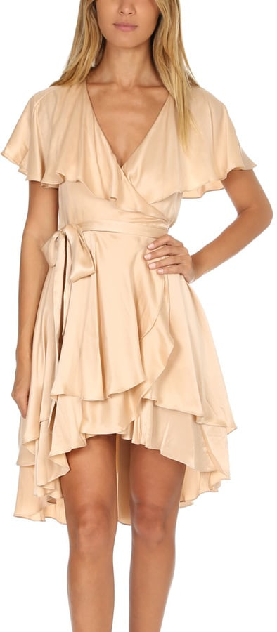 Zimmermann Wrap Dress Beyonc 233 Peach Dress At Lawrence