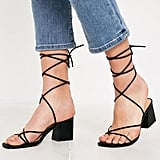 UO Ana Strappy Heeled Sandals
