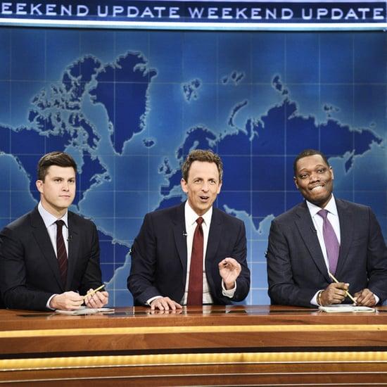 Seth Meyers on SNL Weekend Update October 2018