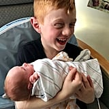 Boy Finally Gets the Brother He's Been Waiting For