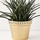 """Punched Metal 6"""" Planter"""