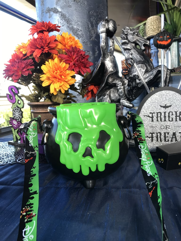 Disneyland Halloween Popcorn Bucket 2018.The Cauldron Popcorn Bucket Final Look Disneyland