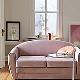 Gemma Velvet Convertible Sofa
