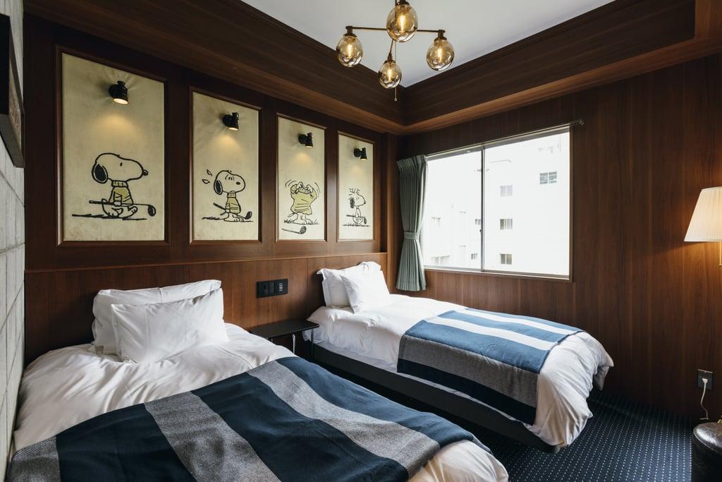 Peanuts Hotel in Japan