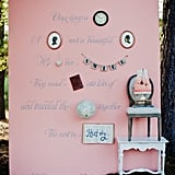Storybook Photo Booth Backdrop