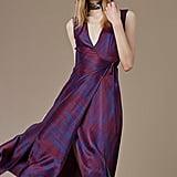 Diane von Furstenberg Sleeveless V-Neck Flare Wrap Dress