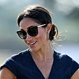 At the Sentebale Polo Match, Meghan were Tom Ford's Emma sunglasses.