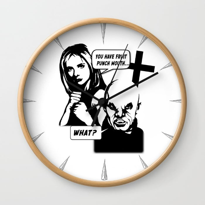 """You've Got Fruit Punch Month"" Wall Clock ($30)"