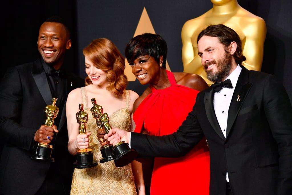 2017 Oscar Winners Next Movies