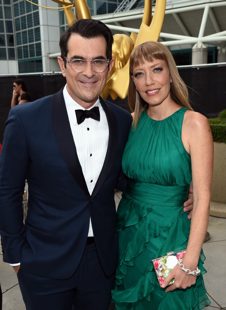Ty Burrell and Holly Brown