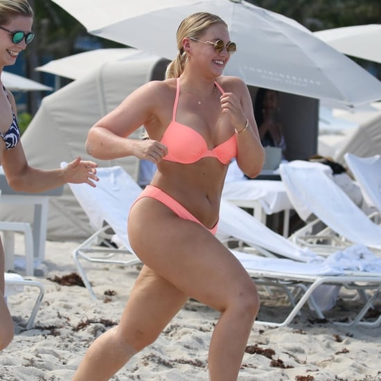 Iskra Lawrence Bikini Pictures in Miami July 2018