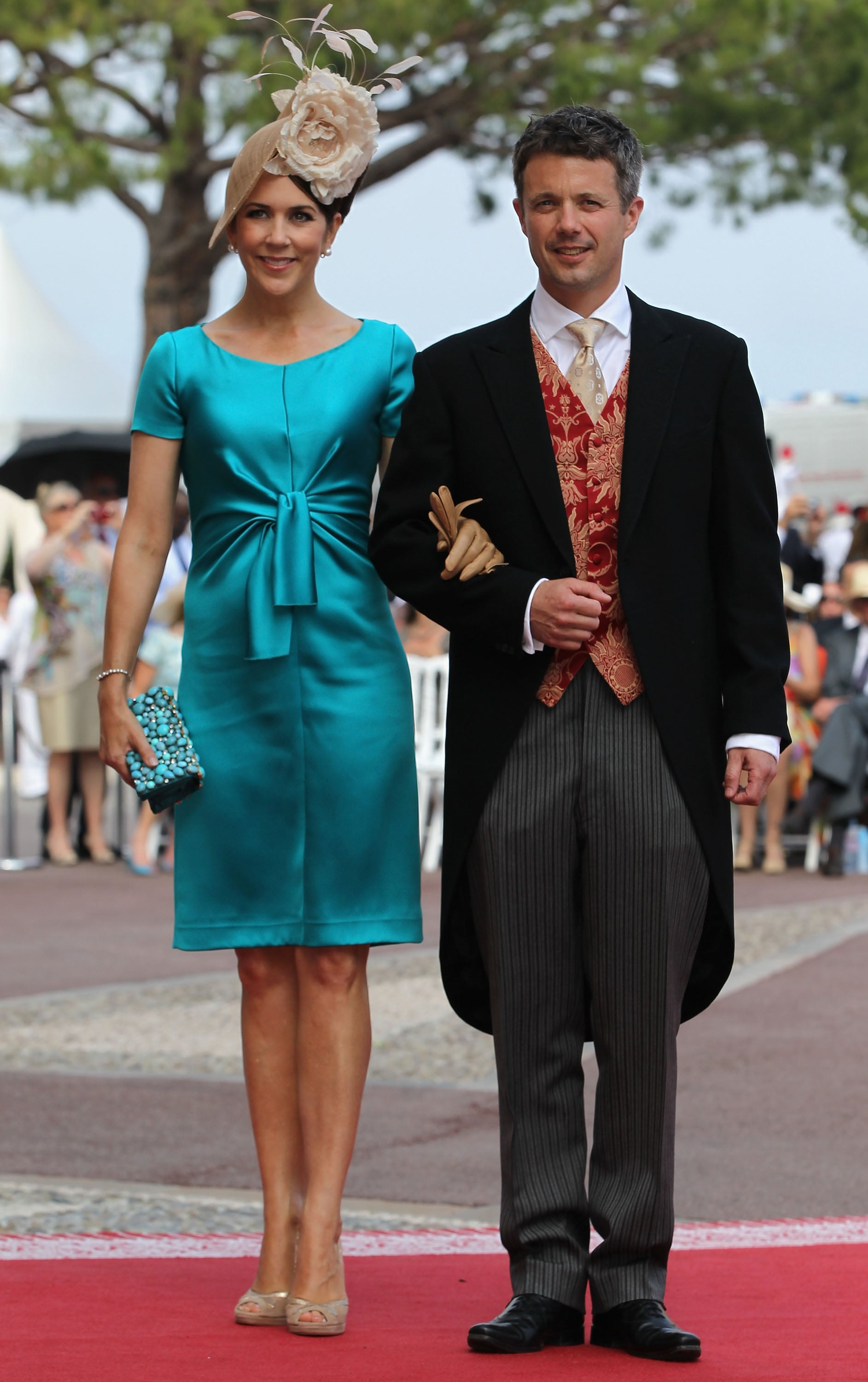 Pictures of Princess Mary and Prince Frederik of Denmark at Monaco ...