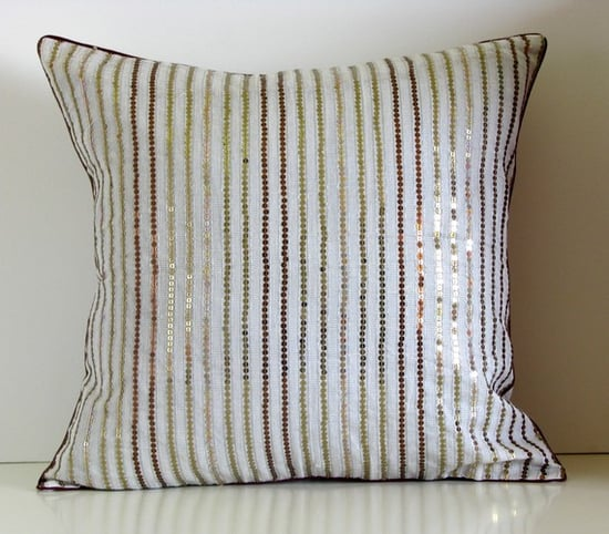 Embroidered DROPLETS pillow ($12)