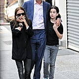 Mary-Kate Olsen hung out with boyfriend Olivier Sarkozy in NYC.