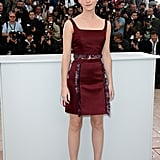 Emma Watson wore a Christopher Kane dress.