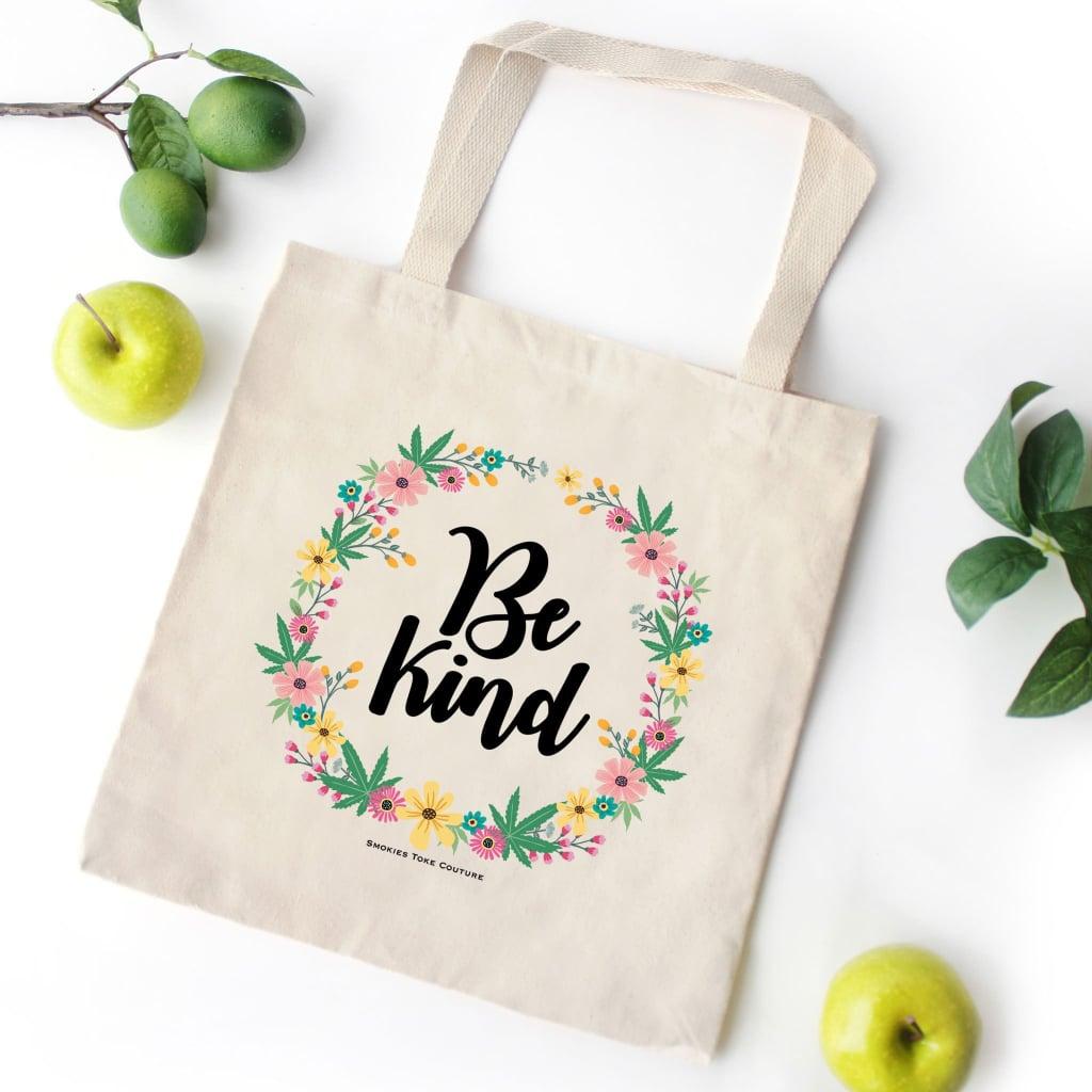 Hemp Market Bag Growing Food|Plant Lady Stoner Gift Cannabis Plant Mama Tote Bag