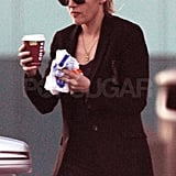Kate Winslet traveled to London.