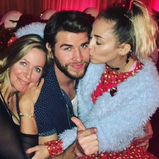 Miley Cyrus and Liam Hemsworth Family Pictures
