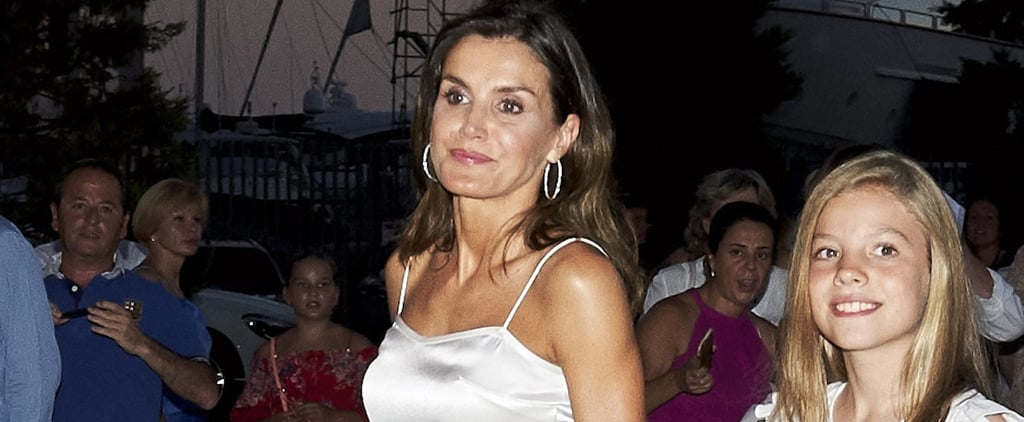 Queen Letizia's Black Sandals at Ara Malikian Concert 2018