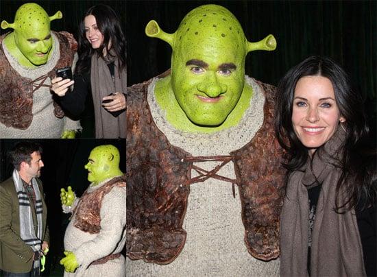 Courtney and David Meet Shrek