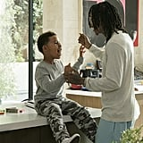 Adorable Pictures of Wiz Khalifa and His 5-Year-Old Son, Sebastian