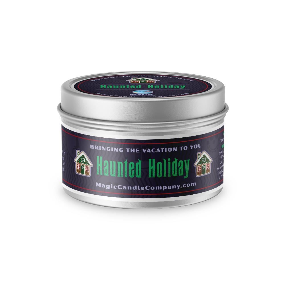 Haunted Holiday Disney Candle