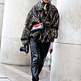 Margaret Zhang wearing a Céline bag.