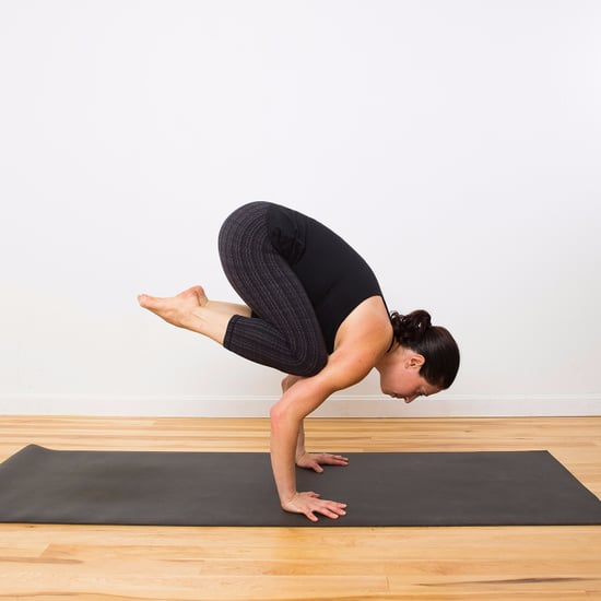 How to Do Crow Pose Into Headstand