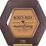 Burt's Bees Mattifying Powder Foundation ($17)