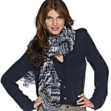Rachel Zoe Abstract Geometric Print Oversized Scarf ($27)