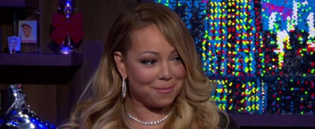 Mariah Carey Talking About Demi Lovato on WWHL 2016