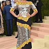 She Attended Her First Met Gala in Moschino